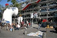 Centre Georges Pompidou, artists, Paris France