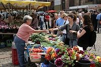 Market, Freiburg, Baden-Wuerttemberg, Germany
