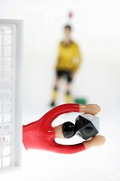 DEU Germany : Tipp Kick Football Soccer Table game ,