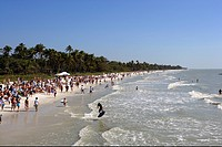 Municipal beach in Naples, Florida, USA