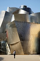 Guggenheim Museum by Gehry, Bilbao, Basque Country, Spain