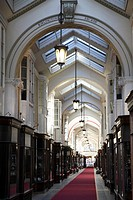 Burlington Arcade, London, England, UK