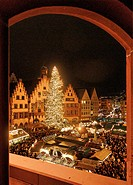 Christmas market, Germany, Frankfurt am Main