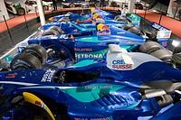 Formula One race cars in the Verkehrshaus der Schweiz, Lucerne, Canton Lucerne, Switzerland