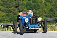Bugatti T 35 B, vintage car, year of construction 1929, Ennstal Classic 2007, Austria