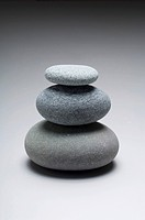 Three stones one above the other
