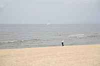 Thoughtful walk on the island Usedom, Baltic Sea, Mecklenburg-Vorpommern, Germany, Europe