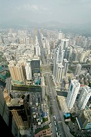 View from Diwang_Building, Shun Hing Square, Shenzhen, China