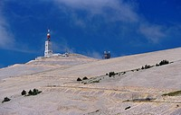 on top of Mont Ventoux, 1912 m, France, Provence