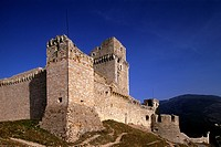 europe, italy, umbria, assisi, major stronghold