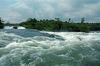 Bujagali Falls, Victoria Nile, Uganda, East Africa, Africa