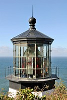 Cape Meares Lighthouse, detail, Tillamook Bay, Oregon, USA