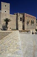 Dalt Vila, arabian almudaina from the San Bernat bastion