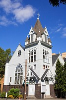 Portland Korean Church in the University District, Oregon, USA