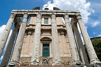 Temple of Antonius and Faustina in the Roman Forum
