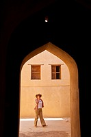Forts. Nizwa Town. Oman. Persian Gulf. Arabia, Middle East.