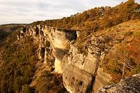 Viewpoint, Las Majadas, Serrania de Cuenca Natural Park, Cuenca province, Castilla-La Mancha, Spain
