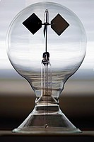 Close up detail of radiometer