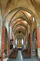 chiesa di san giovanni, saluzzo, piemonte, italia