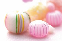 Colorful candy balls