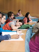 Students in lecture room (thumbnail)