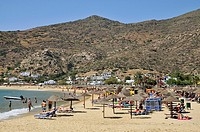 Mylopotas beach, Ios island, Greece