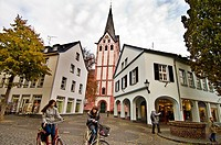Germany,Kempen,historical city centre view