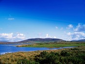 Carrowmore Lake, Bangor, Co Mayo, Ireland, Lake near a town