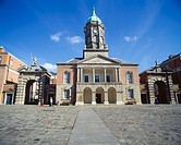 Upper Yard and Bedford Tower, Dublin Castle, Dublin City, Ireland, Historic Irish governmental castle