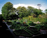 Kinoith House Gardens, Kinoith, Co Cork, Ireland, Edwardian garden during Spring