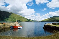 Co Galway, Near Leenaun, Killary Harbour,
