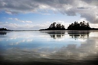 Low tide in Tofino, Vancouver Island, British Columbia, Canada