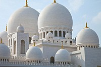Sheikh Zayed Grand Mosque, Abu Dabhi, UAE (United Arab Emirates)