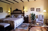 Country hotel  Bedroom  Majorca island  Balearic Islands  Spain