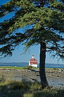 Lighthouse at Gilberts Cove, Nova Scotia