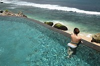 Pool at Ayana Resort and Spa, formerly the Ritz Carlton Bali Resort and Spa, Bali, Indonesia, Southeast Asia, Asia