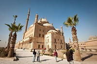 The Mosque of Muhammad Ali at the Citadel, Cairo, Egypt, North Africa, Africa
