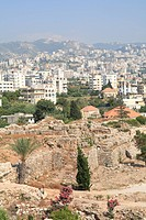 Ancient ruins, Byblos, UNESCO World Heritage Site, Jbail, Lebanon, Middle East