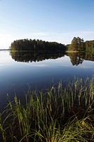 Lake Pihlajavesi, Punkaharju Nature Reserve, Saimaa Lake District, Savonia, Finland, Scandinavia, Europe