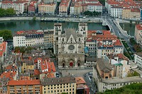 St. John´s Cathedral, Lyon, Rhone, France, Europe
