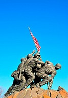 Iwo Jima Memorial statue, near Washington DC