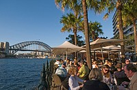 The waterfront of Circular Quay Sydney NSW Australia