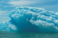 Iceberg and water