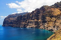 Spain _ Canary Islands _ Tenerife _ L'acantilado de Los Gigantes