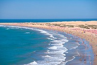 Spain _ Canary Islands _ Gran Canaria _ South Coast _ Maspalomas _ Playa del Ingl&#233;s