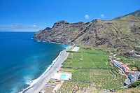 Spain _ Canary Islands _ La Gomera _ Agulo _ Playa de Santa Catalina