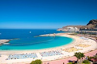 Spain _ Canary Islands _ Gran Canaria _ South Coast _ Puerto Rico _ Playa de Amadores