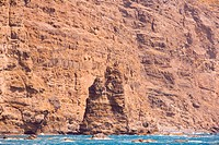 Spain _ Canary Islands _ Gran Canaria _ Agaete _ Puerto de las Nieves _ Dedo de Dios