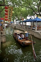 view of Tong Li canals, China