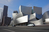 Walt Disney Concert Hall  Downtown Los Angeles, California, USA